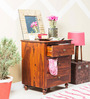 Wynne Luis Chest of Drawers in Honey Oak Finish by Amberville