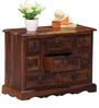 San Luis Solid Wood Chest of Drawers in Provincial Teak Finish by Amberville
