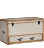 Newnham Trunk Box in Multi-Color Finish by Amberville