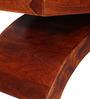 Omaha Coffee Table in Honey Oak Finish by Woodsworth