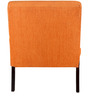 Terisse Lounger in Tangerine Colour by Amberville