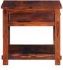 Glendale Bed Side Table in Honey Oak Finish by Woodsworth