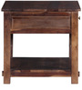 Glendale Bed Side Table in Provincial Teak Finish by Woodsworth