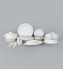 Sanjeev Kapoor Allure Collection Bone China Dinner Set - Set of 48