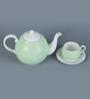 Sanjeev Kapoor's Mint Green Tea Set