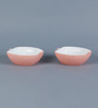 Sanjeev Kapoor's Peach Apple Bowls - Set of 2