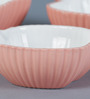 Sanjeev Kapoor's Peach Apple Bowls - Set of 3