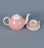 Sanjeev Kapoor's Peach Tea Set