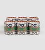 Sanjeev Kapoor Virasat Collection Bone China 190 ML Coffee Mug - Set of 6