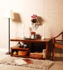 Olney Solid Wood Coffee Table in Provincial Teak Finish by Woodsworth