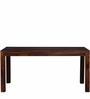 Winona Six Seater Dining Set in Provincial Teak Finish by Woodsworth