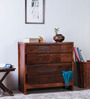 Oakland Chest of Drawers in Honey Oak Finish by Woodsworth