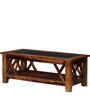 Fife Coffee Table in Provincial Teak Finish by Woodsworth