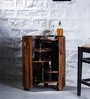 Hambledon Bar Cabinet in Provincial Teak Finish by Amberville