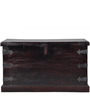 Baggott Trunk Box in Passion Mahogany Finish by Amberville