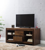 Nashville Entertainment Unit in Provincial Teak Finish by Woodsworth