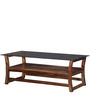 Toston Center Table in Provincial Teak Finish by Woodsworth