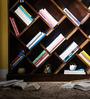 Burgdorf Book Shelf in Provincial Teak Finish by Woodsworth