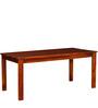 Winona Solid Wood Six Seater Dining Set in Honey Oak Finish by Woodsworth