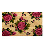 Saral Home Pink Coir 24 x 18 Inch Outdoor Heavy Duty Mat