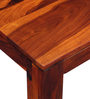 Savannah Coffee Table in Honey Oak Finish by Woodsworth