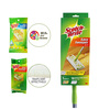 Scotch-Brite Easy Sweeper Mop with Free Dry (35 Pcs) and Wet (8 Pcs) Cleaning Sheets