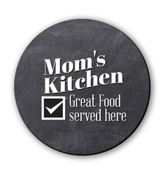 Seven Rays Mom'S Kitchen Fridge Magnet