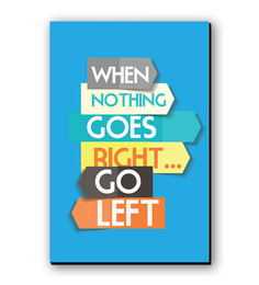 Seven Rays When Nothing Goes Right Fridge Magnet