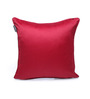 Seasons Lifestyle Red Polyester 16 x 16 Inch Cushion Cover