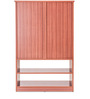 Segno Multipurpose Unit in Brown Colour by Durian