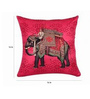 SEJ by Nisha Gupta Multicolor Silk 16 x 16 Inch Cushion Covers - Set of 8