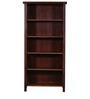 Norfolk Book Shelf In Provincial Teak Finish By Woodsworth