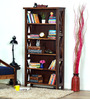 Fife Book Shelf in Provincial Teak Finish by Woodsworth