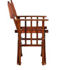 Colville Stacking & Folding Chair in Honey Oak Finish By Woodsworth