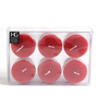 Hosley Apple Cinnamon 6-piece Votive Candle Set