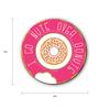 Seven Rays Multicolour Fibre Board Go Nuts Over Donuts Fridge Magnet