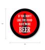 Seven Rays Multicolour Fibre Board Have More Beer Fridge Magnet