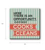 Seven Rays Multicolour Fibre Board Kitchen Opportunity Fridge Magnet