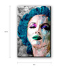 Seven Rays Multicolour Fibre Board Monroe Pop Art Fridge Magnet