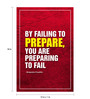 Seven Rays Paper 12 x 1 x 18 Inch Preparing To Fail Unframed Poster