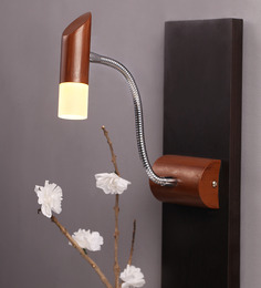 SGC Brown LED Wall Light Fixture