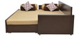 Shine Sofa Bed in Brown Colour by HomeTown