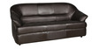 Shine Three Seater Sofa in Brown Colour by Parin