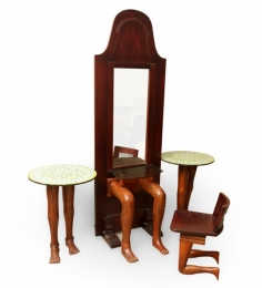 Saffron Personified Dressing Table