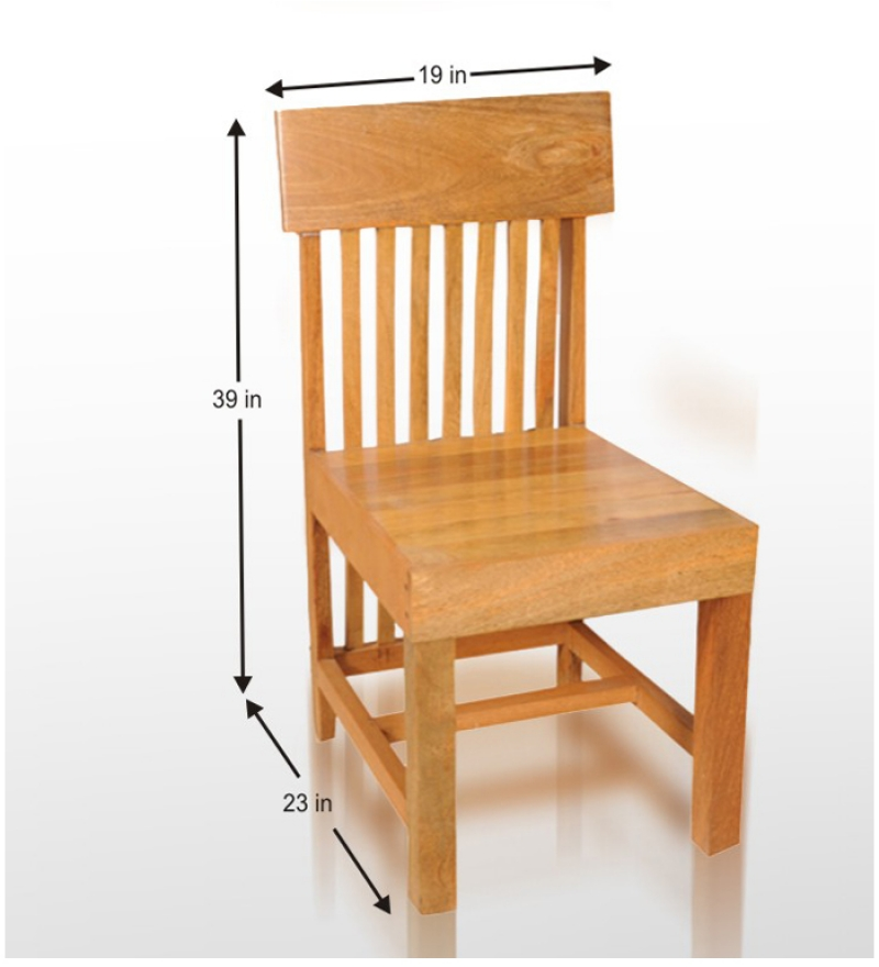 Cassia sturdy dining chair by mudra online dining chairs for Affordable furniture 6496 redland