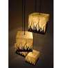 Shady Ideas Forest Fire 4-In-1 Mdf Pendant