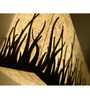 Shady Ideas Ivory Forest Fire Multi Direction Wall Mounted Light