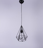 Shaz Living Golden Mesa Black Mild Steel Hanging Light