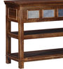Lanford Console Table in Provincial Teak Finish by Amberville