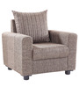Shenzen One Seater Sofa in Grey Colour by Looking Good Furniture